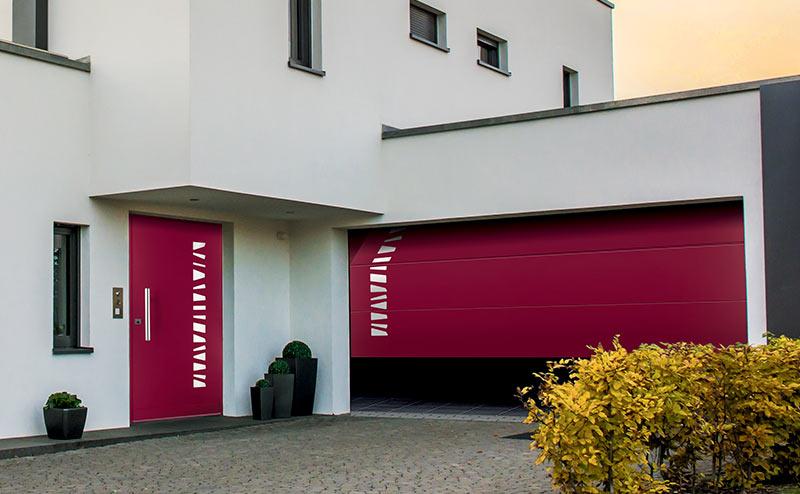 porte de garage Fichet Stylea Enghien-les-Bains