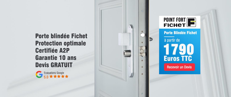 Promotion porte blindée Fichet Enghien-les-Bains